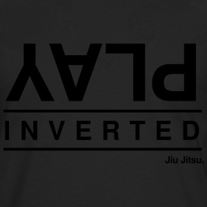 Play Inverted - Men's Premium Long Sleeve T-Shirt