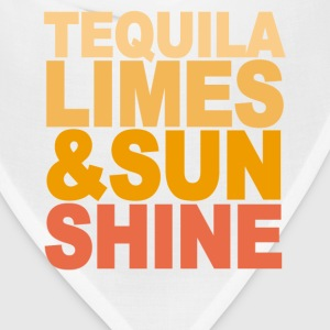 tequila_limes_and_sun_shine_m - Bandana