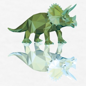 triceratops_06201403 Bottles & Mugs - Men's T-Shirt