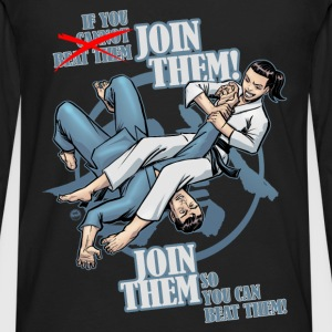 Join Them - Men's Premium Long Sleeve T-Shirt