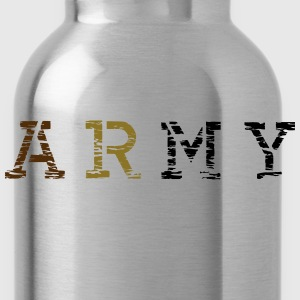 army__vec_3 us T-Shirts - Water Bottle