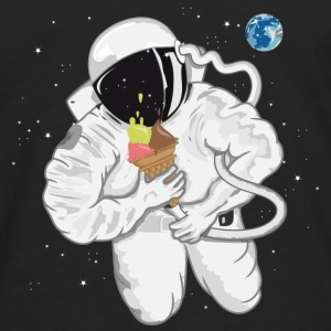 Astronaut with ice cream cone  Baby & Toddler Shirts - Men's Premium Long Sleeve T-Shirt