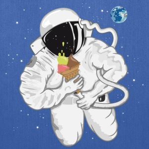 Astronaut with ice cream cone  Women's T-Shirts - Tote Bag