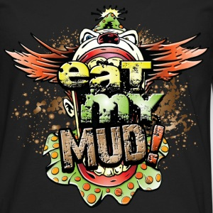 Eat My Mud Clown T-Shirts - Men's Premium Long Sleeve T-Shirt