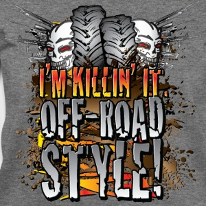 Killin It Off-Road Style T-Shirts - Women's Wideneck Sweatshirt