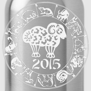 Chinese Year of The Sheep Goat 2015 - Water Bottle