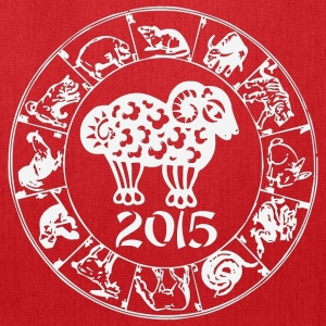 Chinese Year of The Sheep Goat 2015 - Tote Bag