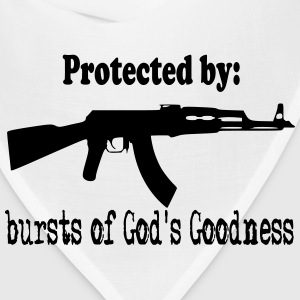 Protected By:  Bursts of God's Goodness Women's T-Shirts - Bandana