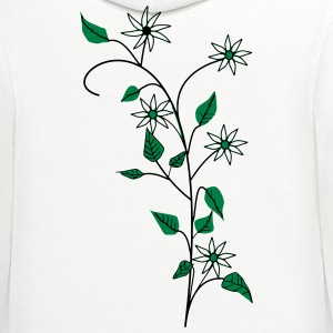 Flowers T-Shirts - Contrast Hoodie