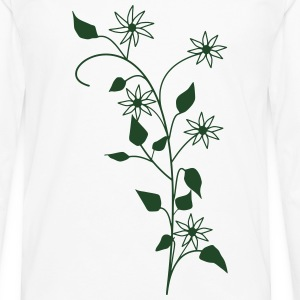 Flowers T-Shirts - Men's Premium Long Sleeve T-Shirt