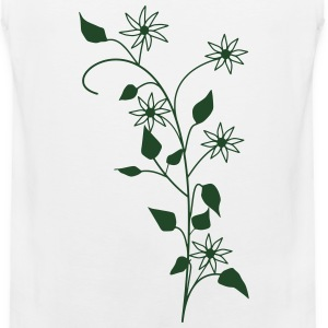 Flowers T-Shirts - Men's Premium Tank