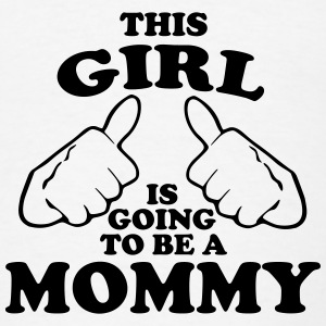 This Girl is Going to be a Mommy Tanks - Men's T-Shirt