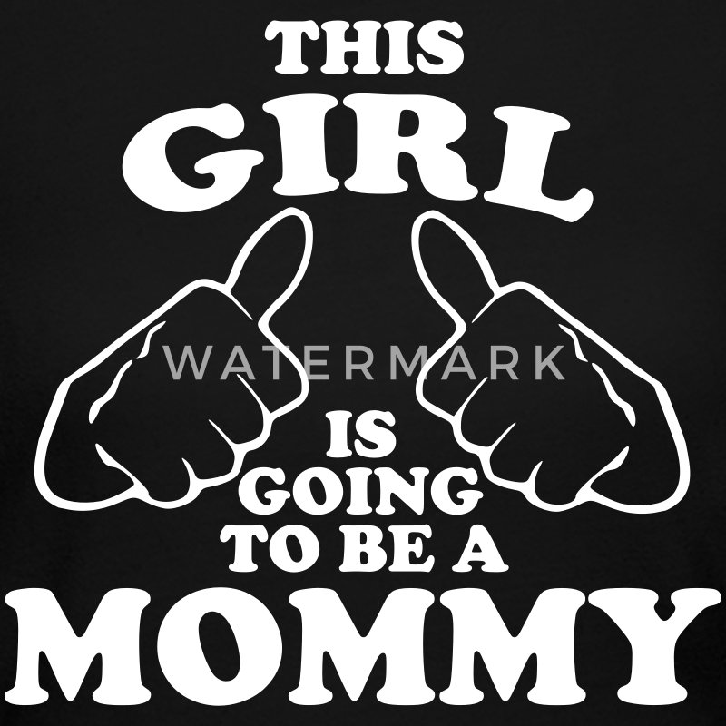 This Girl is Going to be a Mommy Long Sleeve Shirts - Women's Long Sleeve Jersey T-Shirt