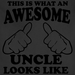 This is What an Awesome Uncle Looks Like T-Shirts - Adjustable Apron