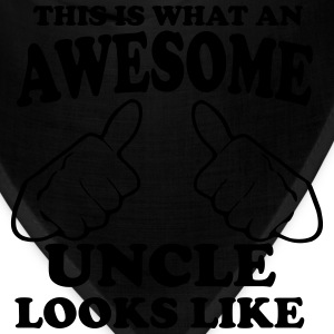 This is What an Awesome Uncle Looks Like T-Shirts - Bandana