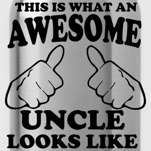 This is What an Awesome Uncle Looks Like T-Shirts - Water Bottle