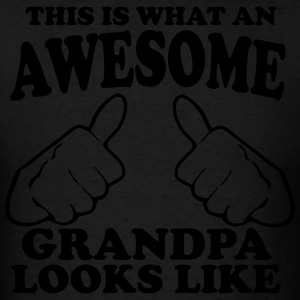 This is What an Awesome Grandpa Looks Like Hoodies - Men's T-Shirt