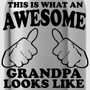This is What an Awesome Grandpa Looks Like Hoodies - Water Bottle