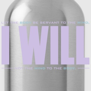 I WILL - Water Bottle