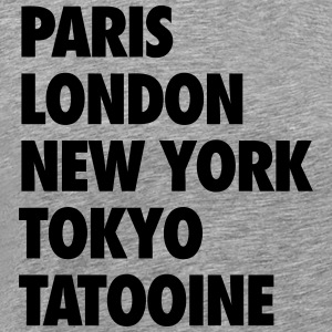 tatooine T-Shirts - Men's Premium T-Shirt