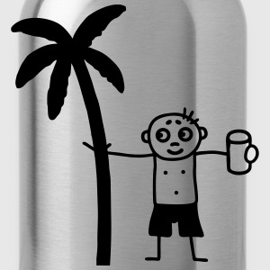 Party under the palms Kids' Shirts - Water Bottle