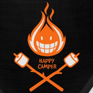 Happy Camper 2-color T-Shirts - Bandana