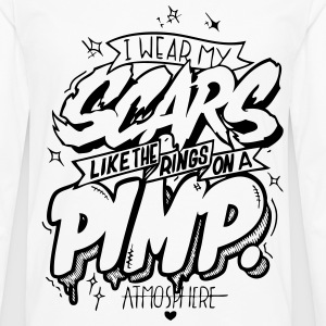 Pimp Scars - Men's Premium Long Sleeve T-Shirt