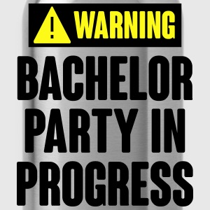 Warning! Bachelor Party In Progress T-Shirts - Water Bottle