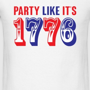 party like its 1776 Tanks - Men's T-Shirt
