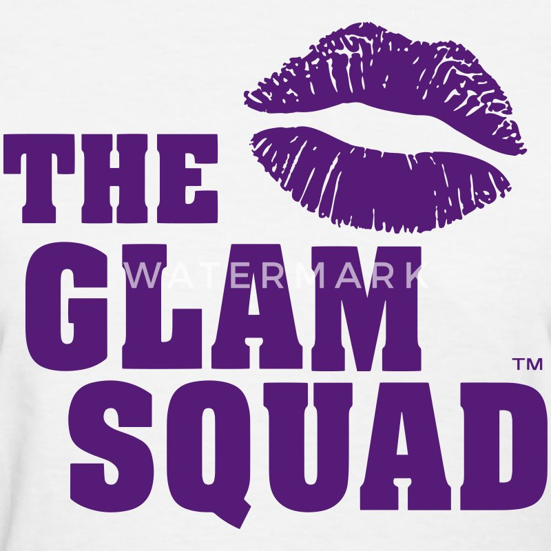 THE GLAM SQUAD Women's T-Shirts - Women's T-Shirt