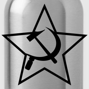 symbol - hammer & sickle (1c) T-Shirts - Water Bottle