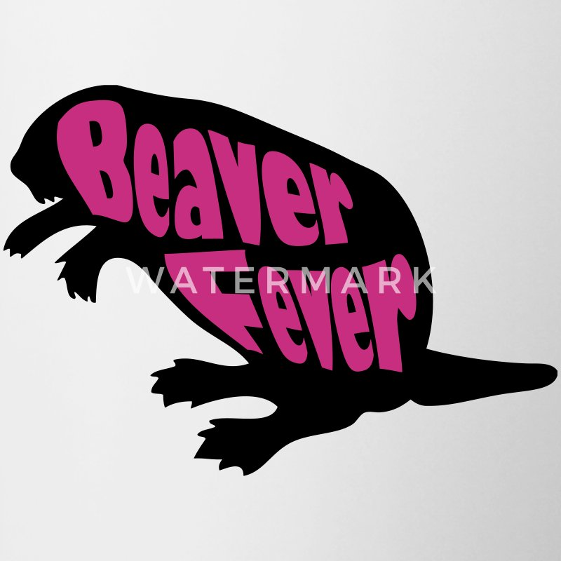 Beaver Fever Funny Bottles & Mugs - Contrast Coffee Mug