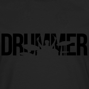 drummer T-Shirts - Men's Premium Long Sleeve T-Shirt