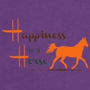 Happiness & Horse T-Shirts - Women's Premium Tank Top