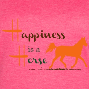 Happiness & Horse Tanks - Women's Vintage Sport T-Shirt