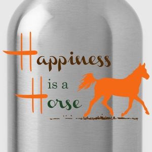 Happiness & Horse Tanks - Water Bottle