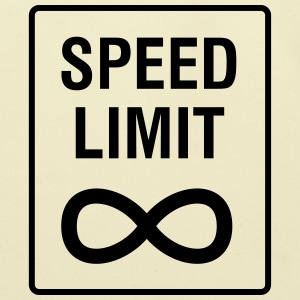 Speed Limit - Unendlich / Funny / Car Tuning T-Shirts - Eco-Friendly Cotton Tote