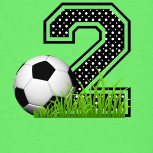2nd_birthday_soccer Baby & Toddler Shirts - Men's T-Shirt
