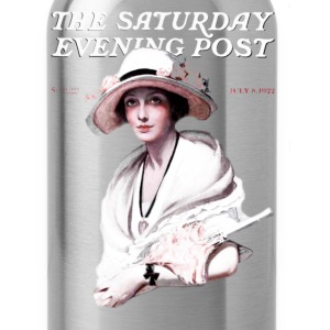 Saturday Evening Post 1922 T-Shirts - Water Bottle