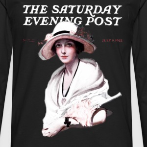 Saturday Evening Post 1922 T-Shirts - Men's Premium Long Sleeve T-Shirt