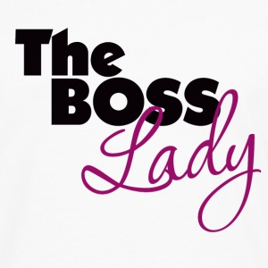 The Boss Lady - Men's Premium Long Sleeve T-Shirt