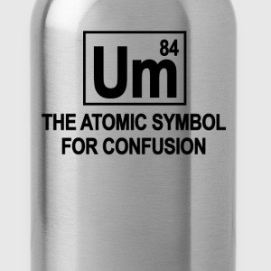 periodic_table_um_symbol_tshirt - Water Bottle