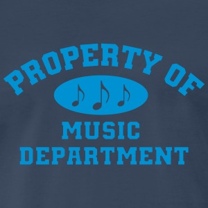 Property Of Music Department - Men's Premium T-Shirt