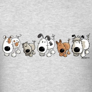 Funny Dogs - Dog - Doggy Hoodies - Men's T-Shirt