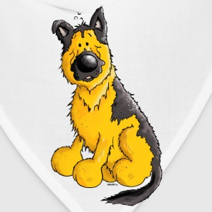 German Shepherd Dog - Breed - Dogs T-Shirts - Bandana