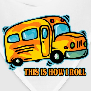 How I Roll School Bus T-Shirts - Bandana