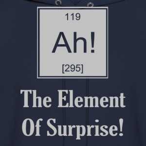 Ah! The Element Of Surprise - Men's Hoodie