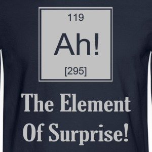 Ah! The Element Of Surprise - Men's Long Sleeve T-Shirt