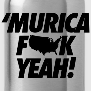 Merica Fuck Yeah! Women's T-Shirts - Water Bottle