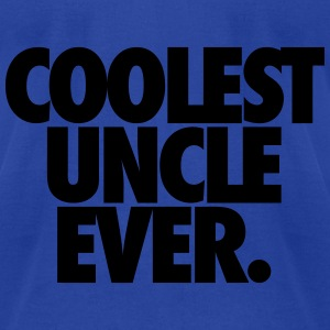 Coolest Uncle Ever Tanks - Men's T-Shirt by American Apparel